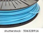 3d printing filament spool | Shutterstock . vector #506328916