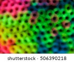 extreme blur photo of colorful... | Shutterstock . vector #506390218