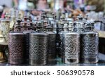 traditional handcrafted... | Shutterstock . vector #506390578