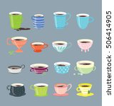 vector design elements of the... | Shutterstock .eps vector #506414905