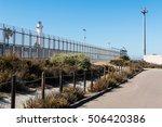 Border Fence Separating San...