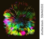 abstract vector background dot...   Shutterstock .eps vector #506463232