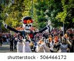 mexico city  mexico   october... | Shutterstock . vector #506466172
