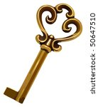 old key vector illustration | Shutterstock .eps vector #50647510