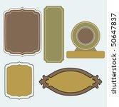 label | Shutterstock .eps vector #50647837