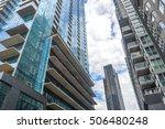 condo buildings in downtown... | Shutterstock . vector #506480248