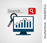 search engine optimization flat ... | Shutterstock .eps vector #506483512