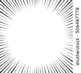 comics frame  vector | Shutterstock .eps vector #506487778