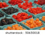 Fresh Assorted Berries At...