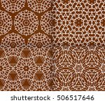 seamless sophisticated... | Shutterstock .eps vector #506517646