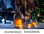 close up view  of two glasses... | Shutterstock . vector #506528536