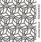 vector seamless pattern. modern ... | Shutterstock .eps vector #506540932