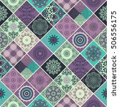 seamless pattern tile with... | Shutterstock .eps vector #506556175