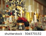 new year celebration  christmas ... | Shutterstock . vector #506570152