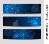 horizontal banners template... | Shutterstock .eps vector #506573266