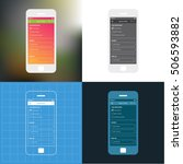 mobile app single screen ui kit....