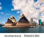 sydney   march 4  2016  opera... | Shutterstock . vector #506601382