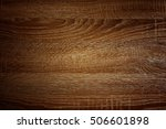 texture of brown wood use as... | Shutterstock . vector #506601898