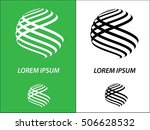 logo icon design and business... | Shutterstock .eps vector #506628532