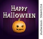 happy halloween | Shutterstock .eps vector #506641216
