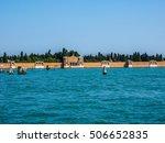 hdr san michele cemetery island ... | Shutterstock . vector #506652835