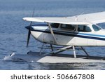 seaplane take off | Shutterstock . vector #506667808