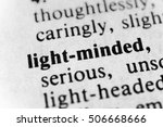 Small photo of Light-minded