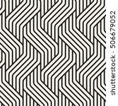 vector seamless pattern. modern ... | Shutterstock .eps vector #506679052