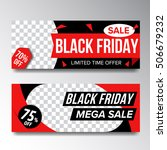 black friday poster sale | Shutterstock .eps vector #506679232