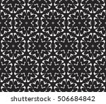 black and white color. abstract ... | Shutterstock .eps vector #506684842