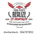 love quote | Shutterstock .eps vector #506707852