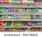 chiang rai  thailand   october... | Shutterstock . vector #506708602
