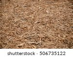 Field With Wood Chip During...