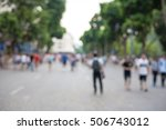 blurred background. blurred... | Shutterstock . vector #506743012