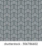 seamless monochrome pattern of...   Shutterstock .eps vector #506786602
