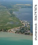 Aerial View Of Long Point...