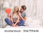 i give you my heart. joyful... | Shutterstock . vector #506799646