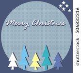 christmas card   Shutterstock .eps vector #506832316