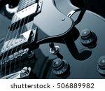 Electric Guitar Close Up Detail