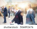 blurred image for background.... | Shutterstock . vector #506892676