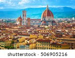 Cityscape In Florence  Italy