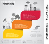 timeline infographics design... | Shutterstock .eps vector #506953552