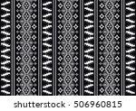 geometric ethnic pattern... | Shutterstock .eps vector #506960815