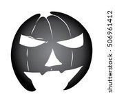 mask pumpkin | Shutterstock .eps vector #506961412