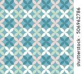 pastel seamless geometric... | Shutterstock .eps vector #506962786