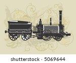 illustration of a vintage...   Shutterstock .eps vector #5069644