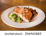Fresh Grilled Salmon Fillet...