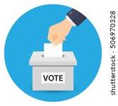 voting concept | Shutterstock .eps vector #506970328