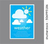 simple page weather for describe | Shutterstock .eps vector #506995186