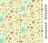 floral seamless pattern | Shutterstock .eps vector #507016435